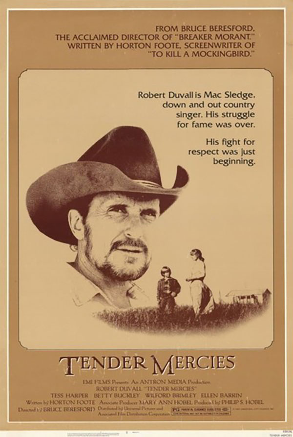 Tender Mercies film poster