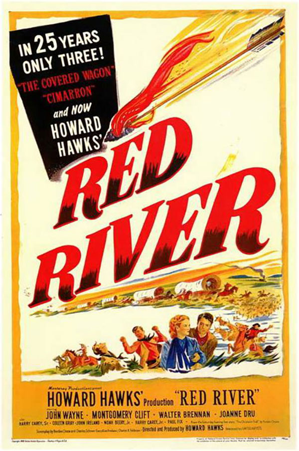 Red River film poster
