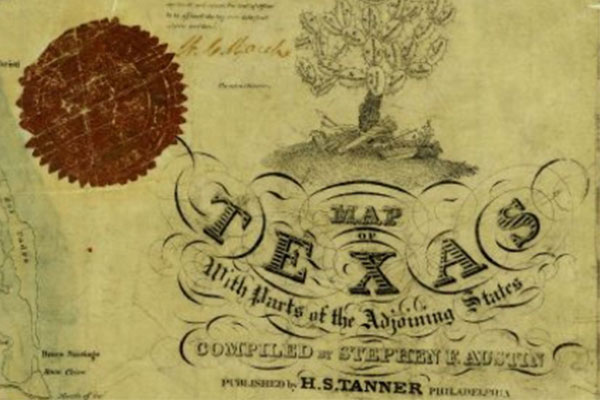 Documents like this from the Texas General Land Office provide a glimpse of life in early Texas.