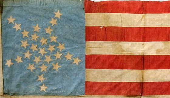 28 Star US Flag