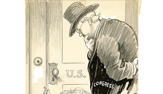 "cartoon, ""please ring the bell for us""john knott | bullock"