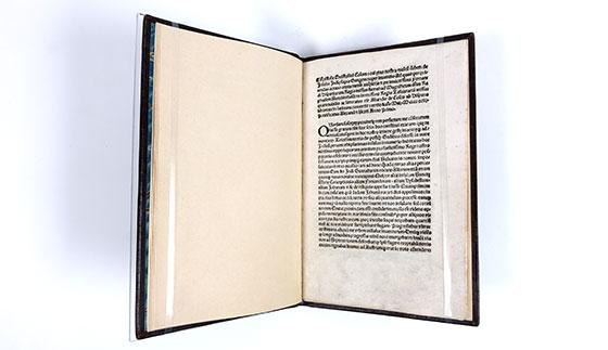 letter epistola christofori colom by christopher columbus publisher rome stephan plannck