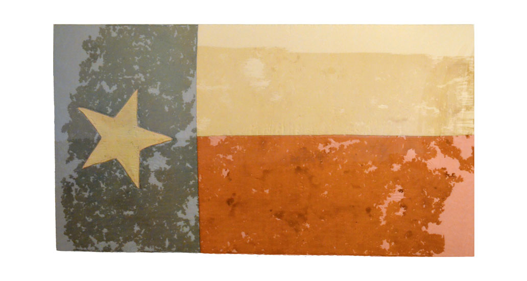 1861 Secessionist Flag That Flew Over The Alamo