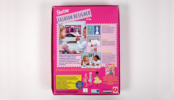 Barbie Fashion Designer Cd Rom Bullock Texas State History Museum