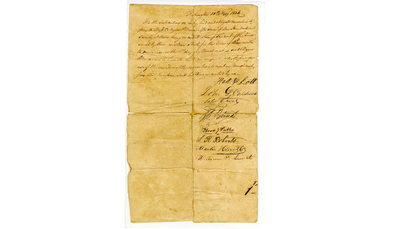 Convention Hall Rental Agreement 1836 Bullock Texas State History