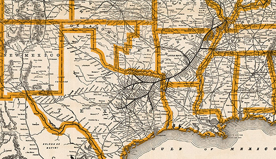 Map of the Cotton Belt Route | Bullock Texas State History ... Cotton Belt Railroad System Map on northwestern pacific railroad map, arizona & california railroad map, central pacific railroad map, loram railroad map, new haven railroad map, ontario northland railroad map, texas railroad map, jersey central railroad map, union pacific railroad map, florida east coast railroad map, penn central railroad map, the underground railroad map, cotton production 1860 map, long island railroad map, sp railroad map, frisco railroad map, chicago & northwestern railroad map, buffalo & pittsburgh railroad map, cancer belt map, parchman farm mississippi map,