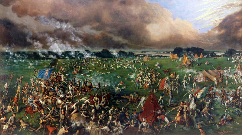 The Battle of San Jacinto by Henry McArdle