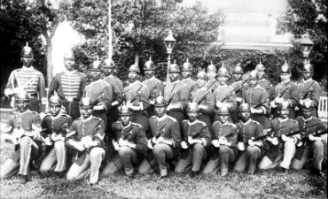 Buffalo Soldiers. Image courtesy of National Archives, Washington DC