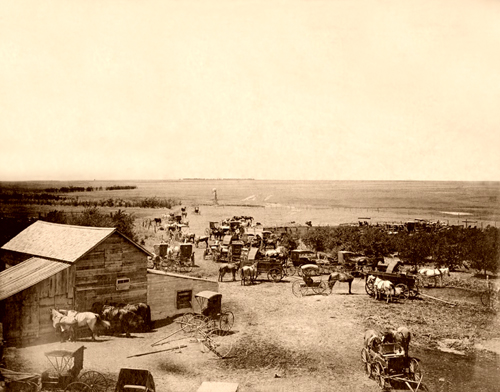 Dodge City, Kansas late 1800s