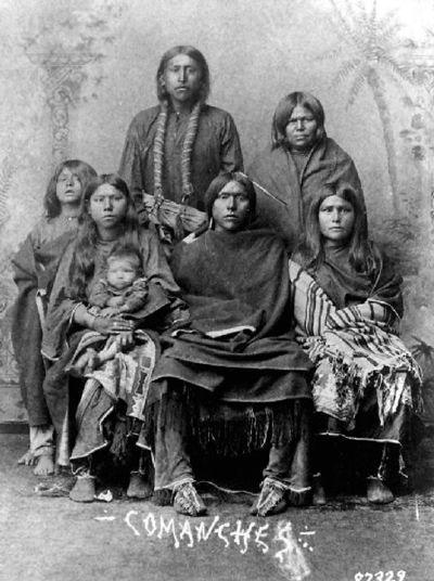 comanche native american food
