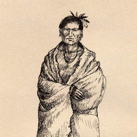 Center American Indian Male With Unshorn Head Of Hair Right Sikh And Full Beard Note Native Men Tend To Have