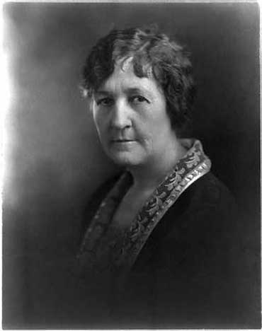 """We departed in disgrace; we now return in glory."" - Miriam ""Ma"" Ferguson, first woman governor of Texas. Image courtesy of Library of Congress."