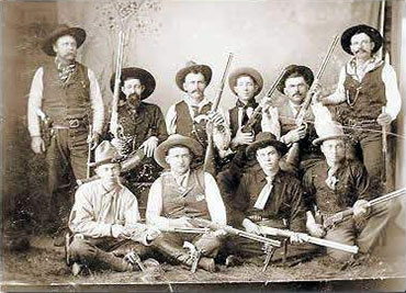 """They did right because it was right."" - Captain John ""RIP"" Ford, Texas Ranger 1850. Frontier Battalion Co. B circa 1880. Image courtesy of Texas Ranger Hall of Fame and Museum ©2003. Photo by Mike Cox."