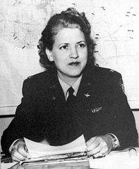 Women Airforce Service Pilots Director Jacqueline Cochran