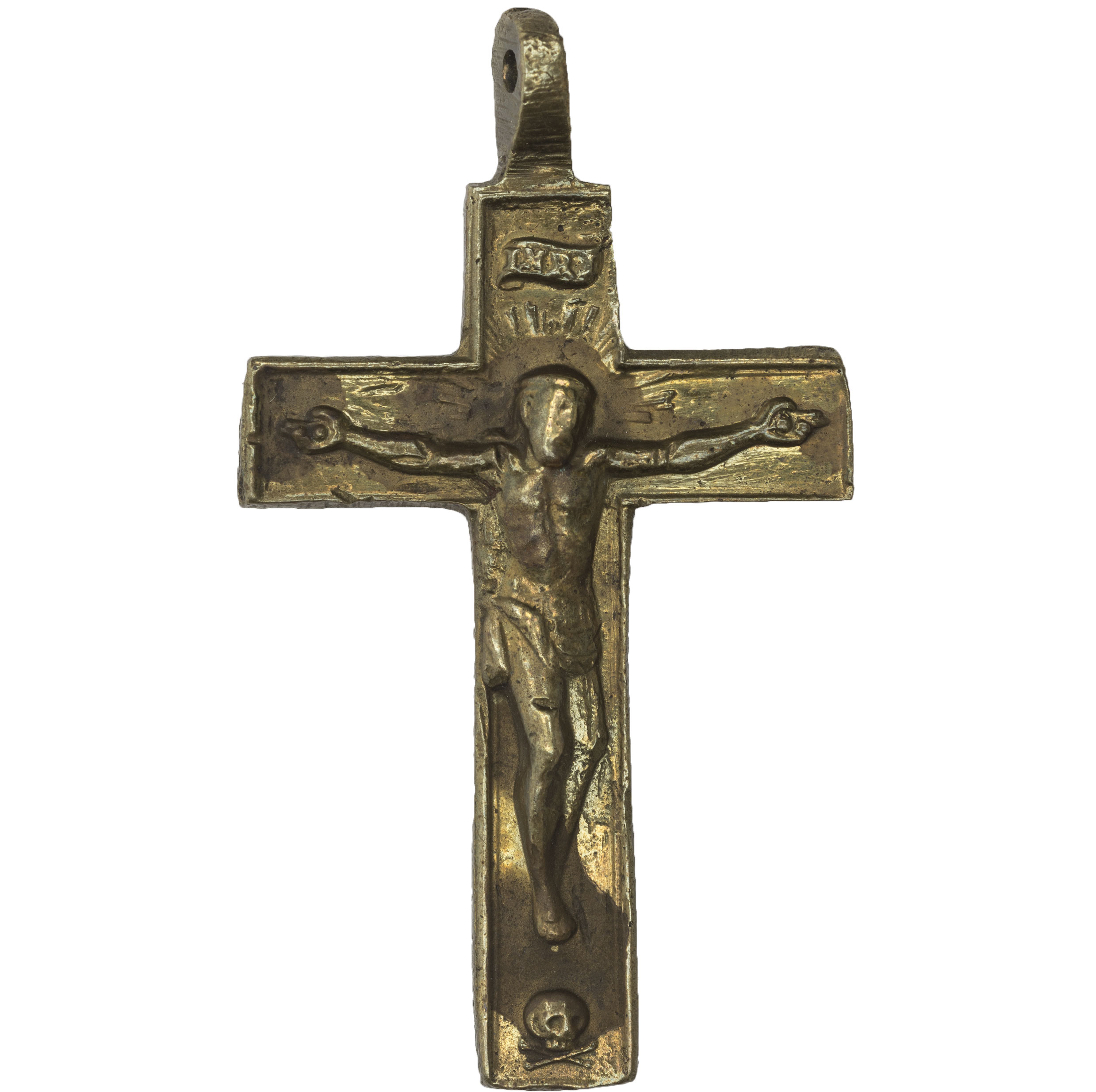 Crucifix from shipwrecked Spanish boat
