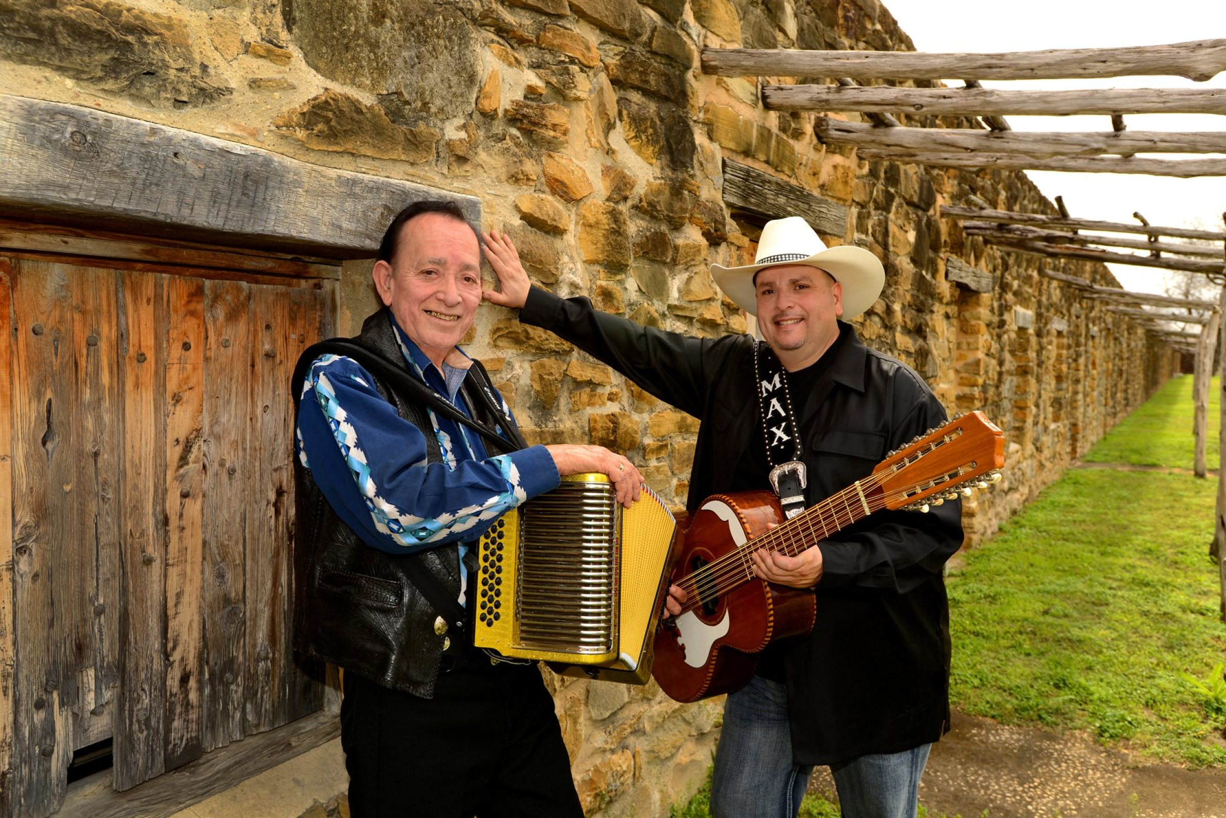 "Grammy Award winners Los TexManiacs with Special guest ""Living Legend"" Flaco Jiménez play at Music Under the Star on July 15, 2016"
