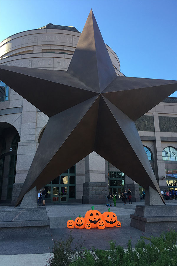 Star with Pumpkins