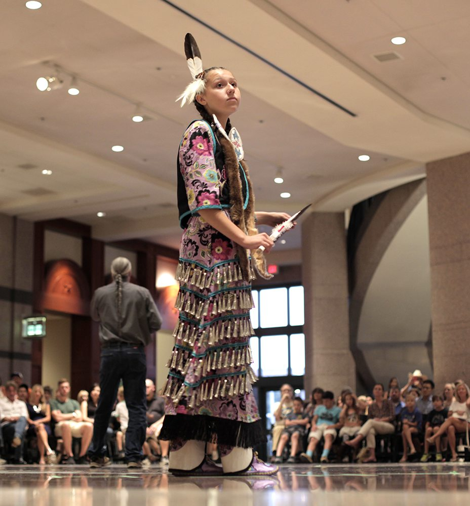 Dancing Youth, American Indian Heritage Day 2015
