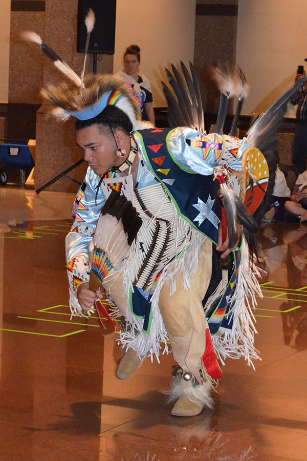 Costumes and Conversation, American Indian Heritage Day 2015