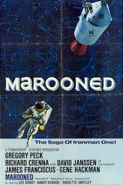 Marooned 1969 Movie Poster