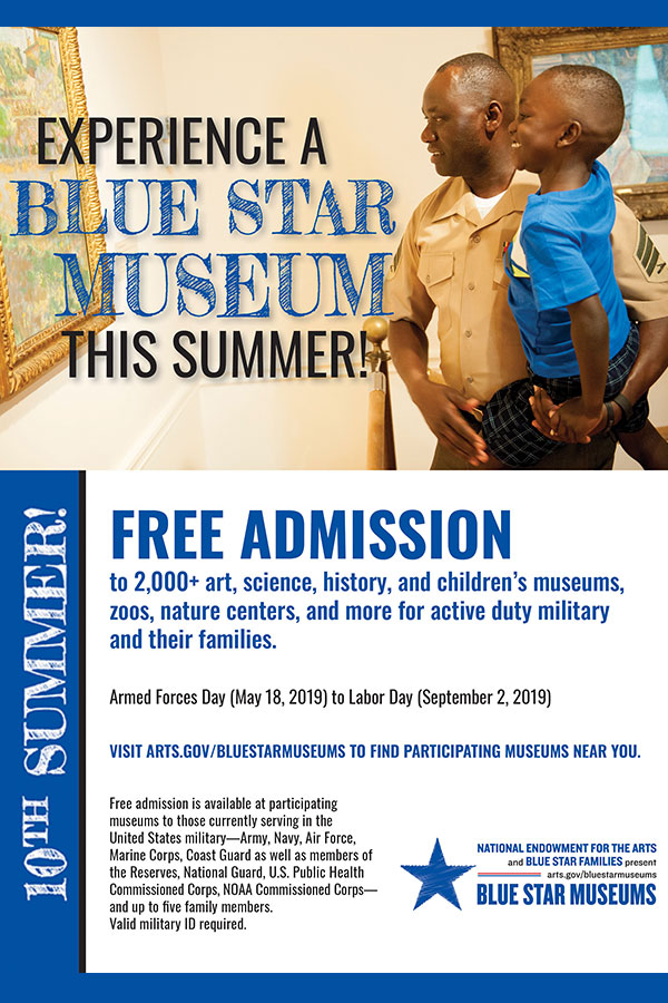 Blue Star Museums Secondary Image