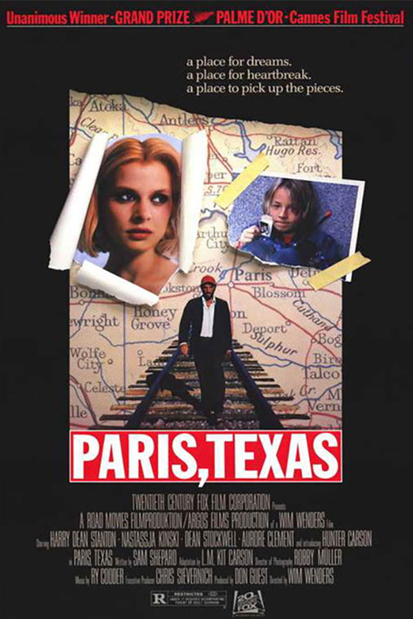 Paris Texas film poster