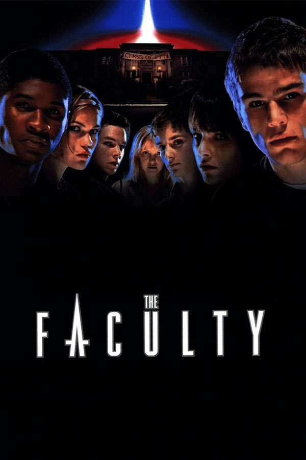 The Faculty film poster