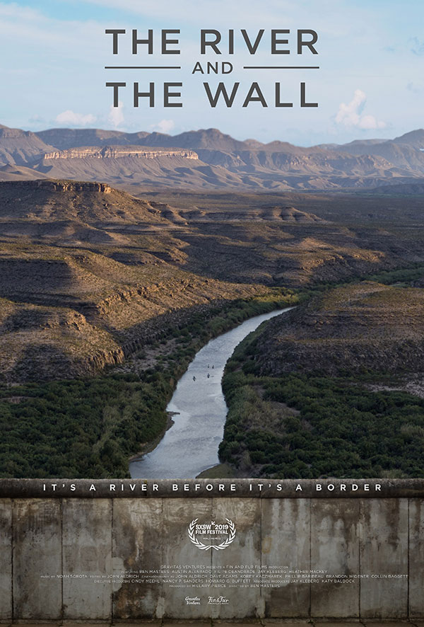 the river and the wall film poster