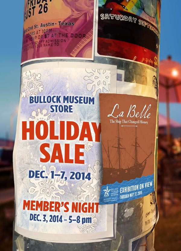 2014 Bullock Museum Store Holiday Sale