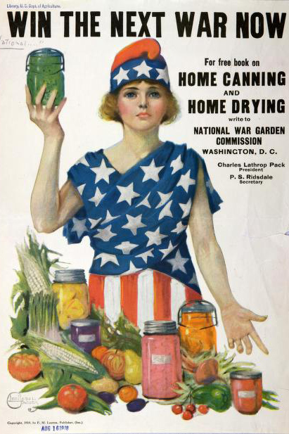 Home Canning USDA Poster