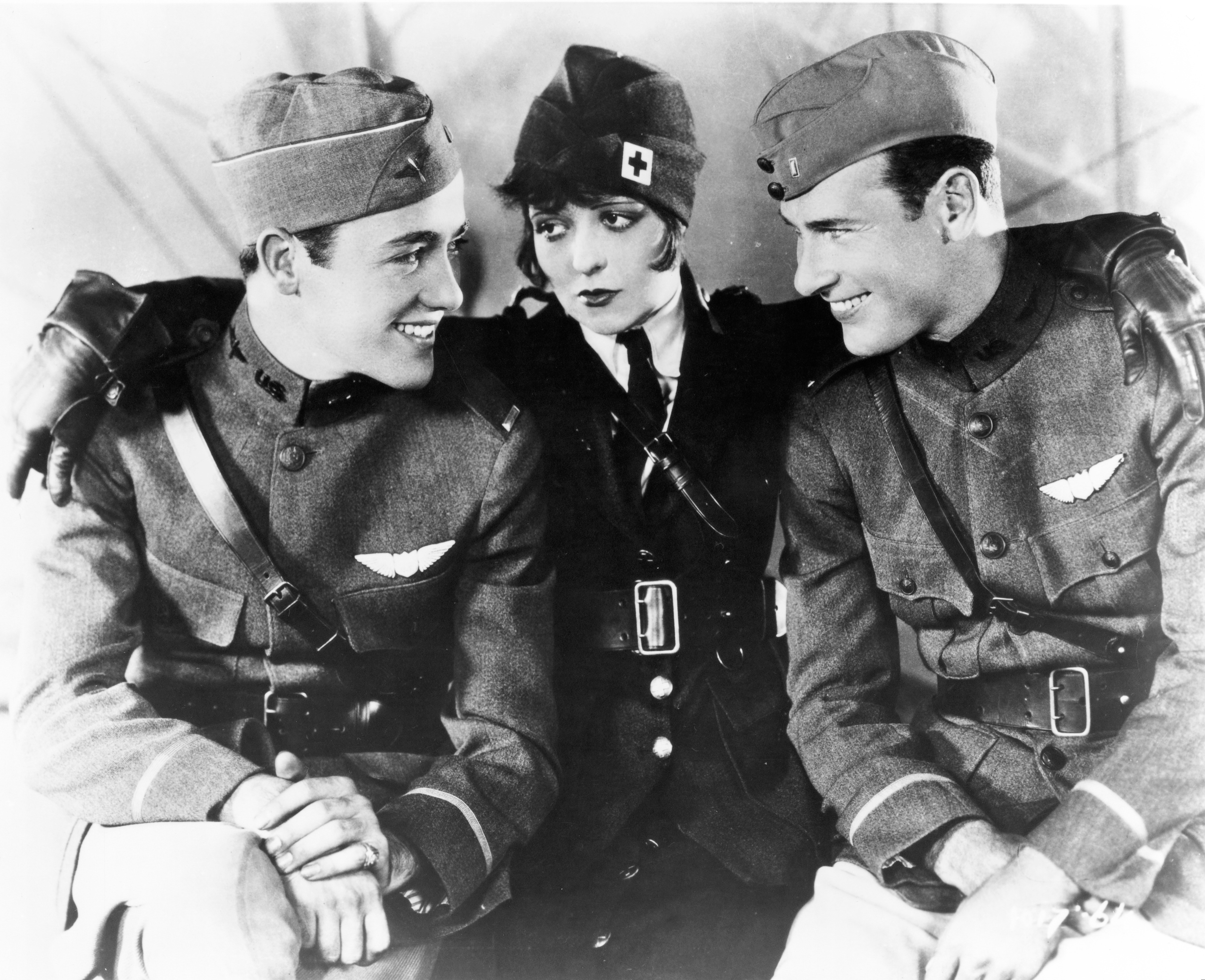 Shot in and around San Antonio, Texas, Wings was the first film to win an Academy Award for Best Picture in 1927.