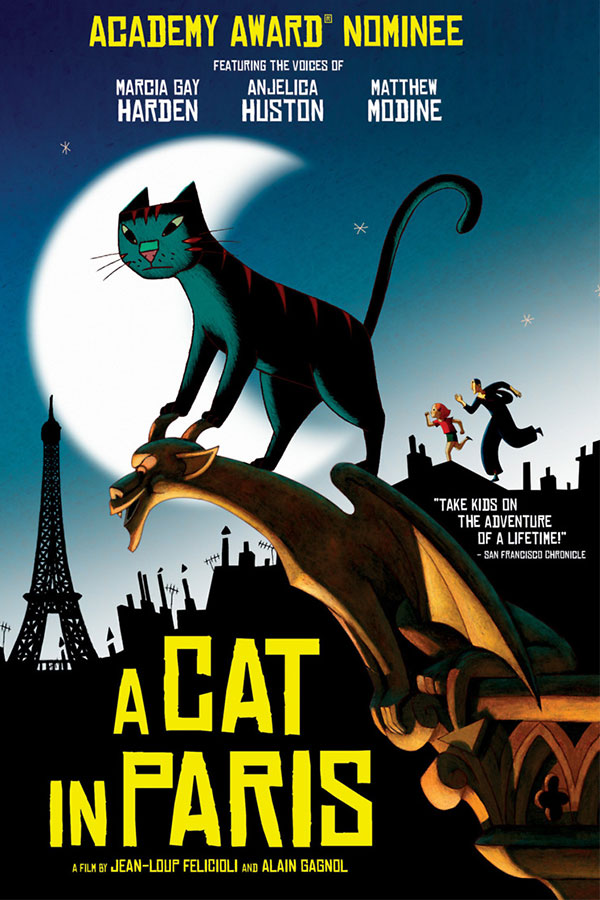 Summer Free Family Series: A Cat in Paris