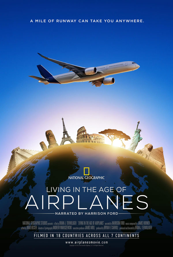 Living in the Age of Airplanes lands April 10