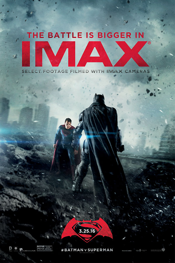 Batman v superman dawn of justice bullock imax theatre