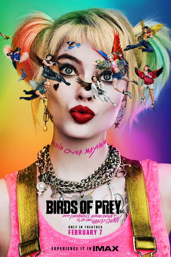 Harley Quinn in Birds of Prey poster