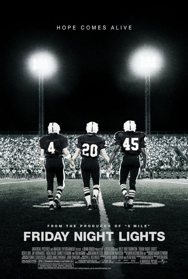 Friday Night Lights Bullock Texas Spirit Theater Film Poster