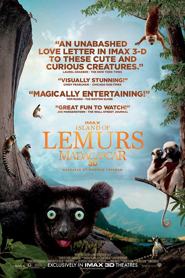 Island of Lemurs: Madagascar 3D | Bullock IMAX Theater