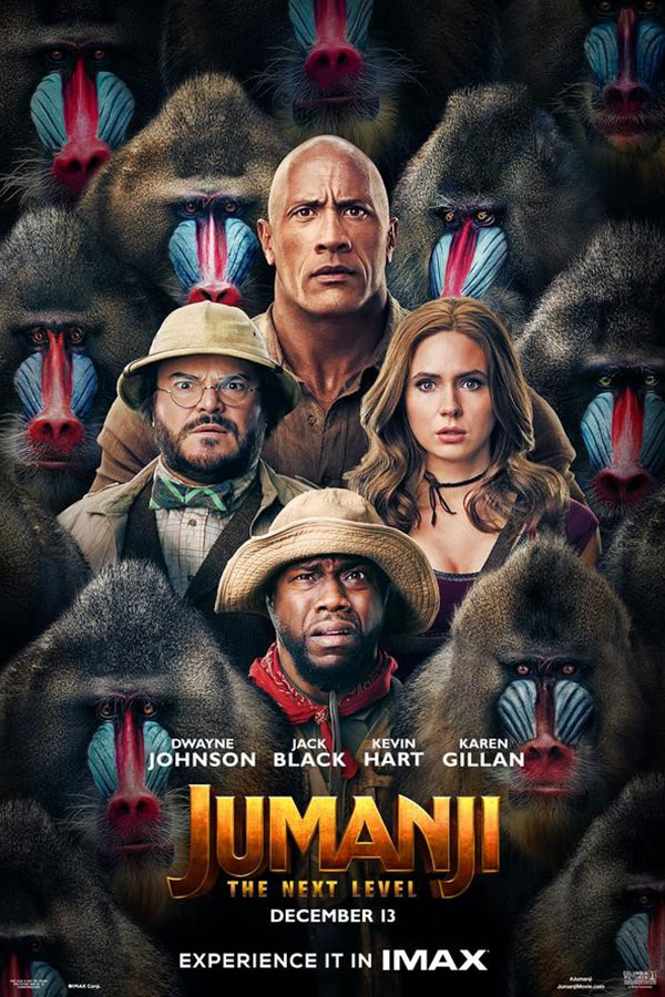 Jumanji title treatment