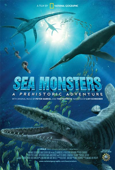 Sea Monsters 3D poster