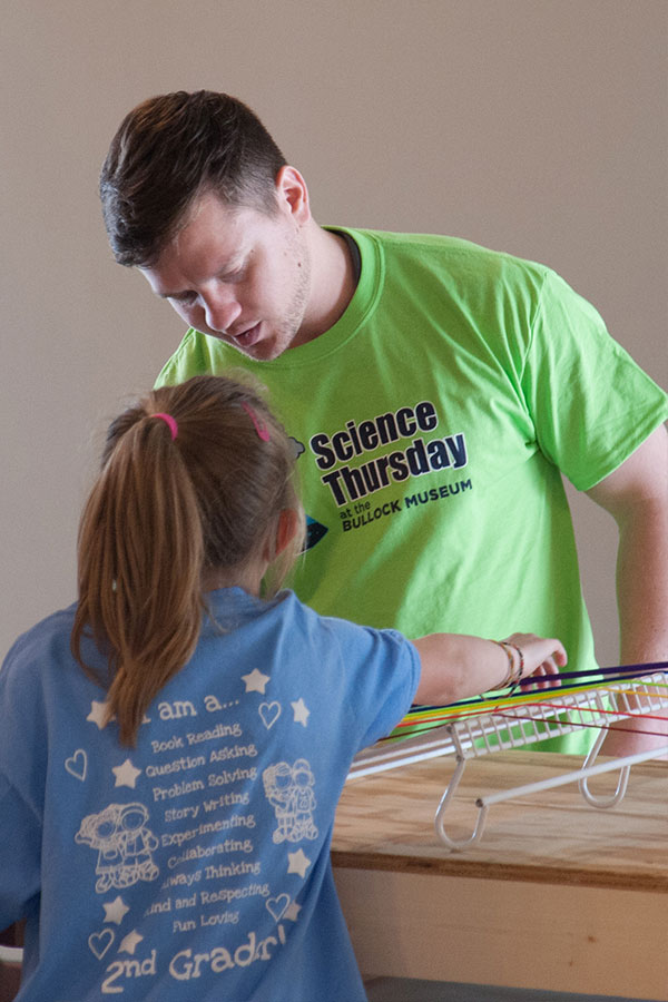 students at science thursday