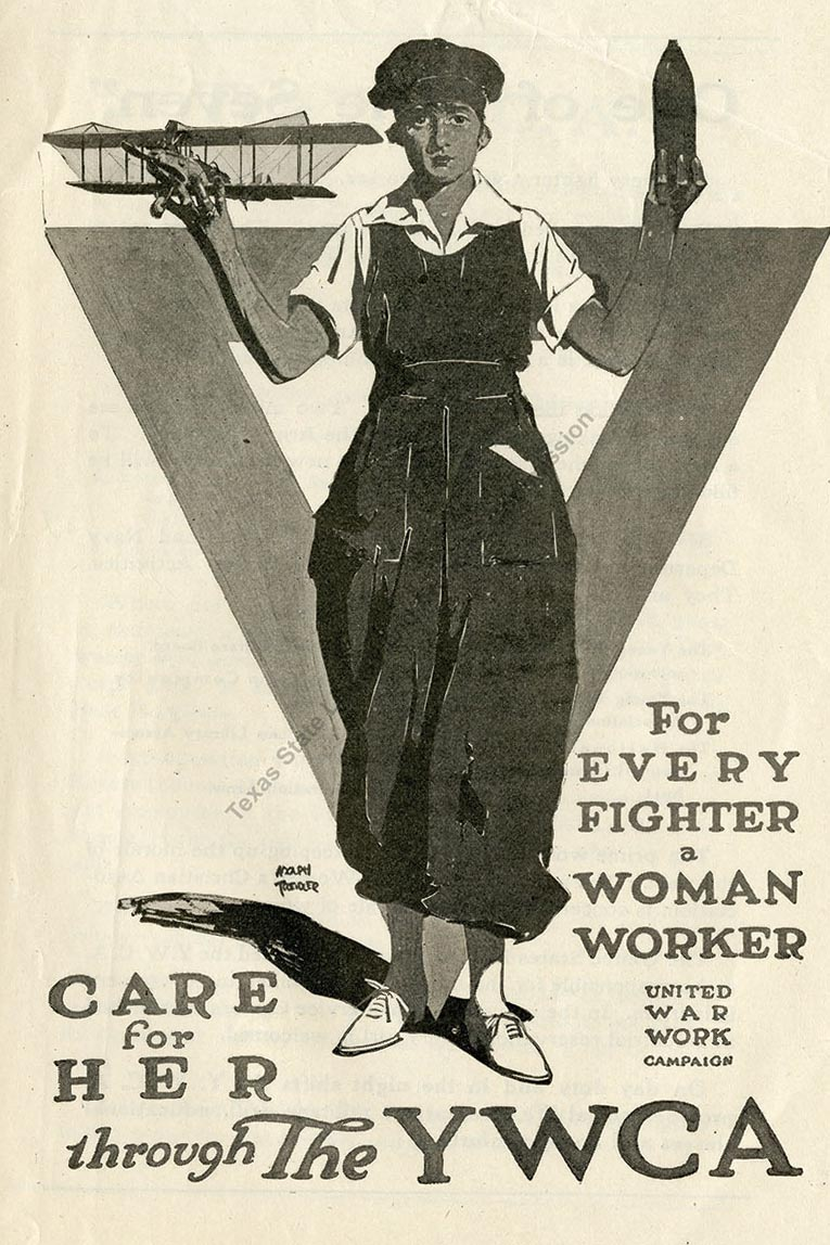 War Work Poster WWI
