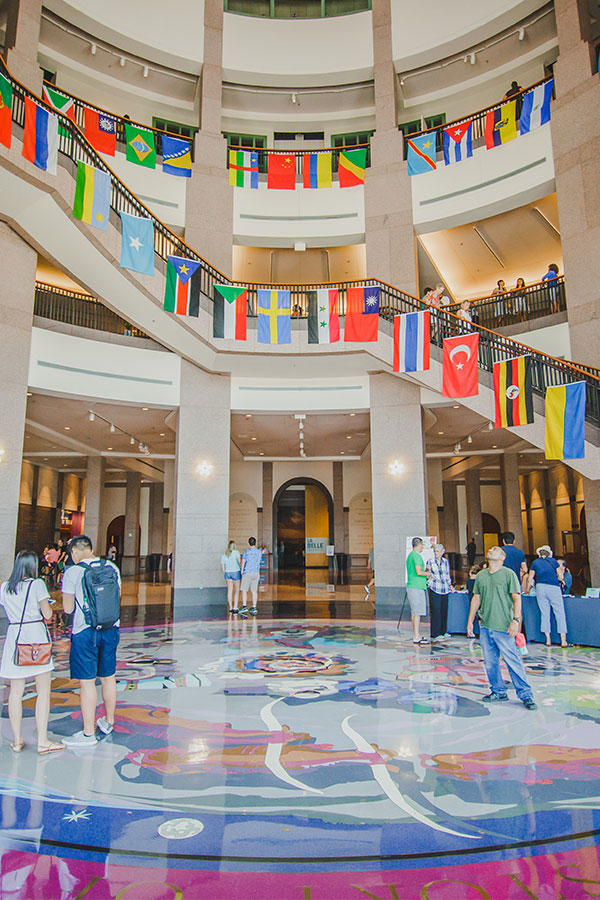 Commemorate the United Nations' World Refugee Day at the Bullock Museum on Saturday, June 16 with a naturalization ceremony, world cuisine, live music, and family activities.