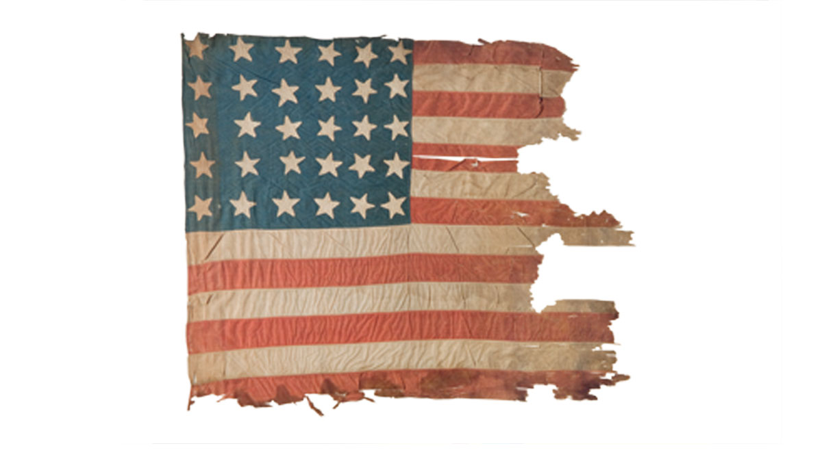 American flags one of the first american flags that betsy for How do you properly dispose of an american flag