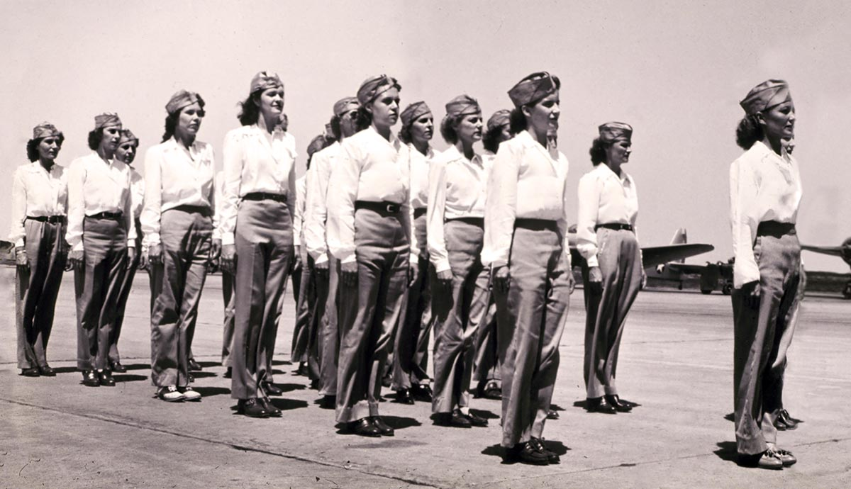 Women Airforce Service Pilots Of WW II Texas State History Museum - Wasps us map