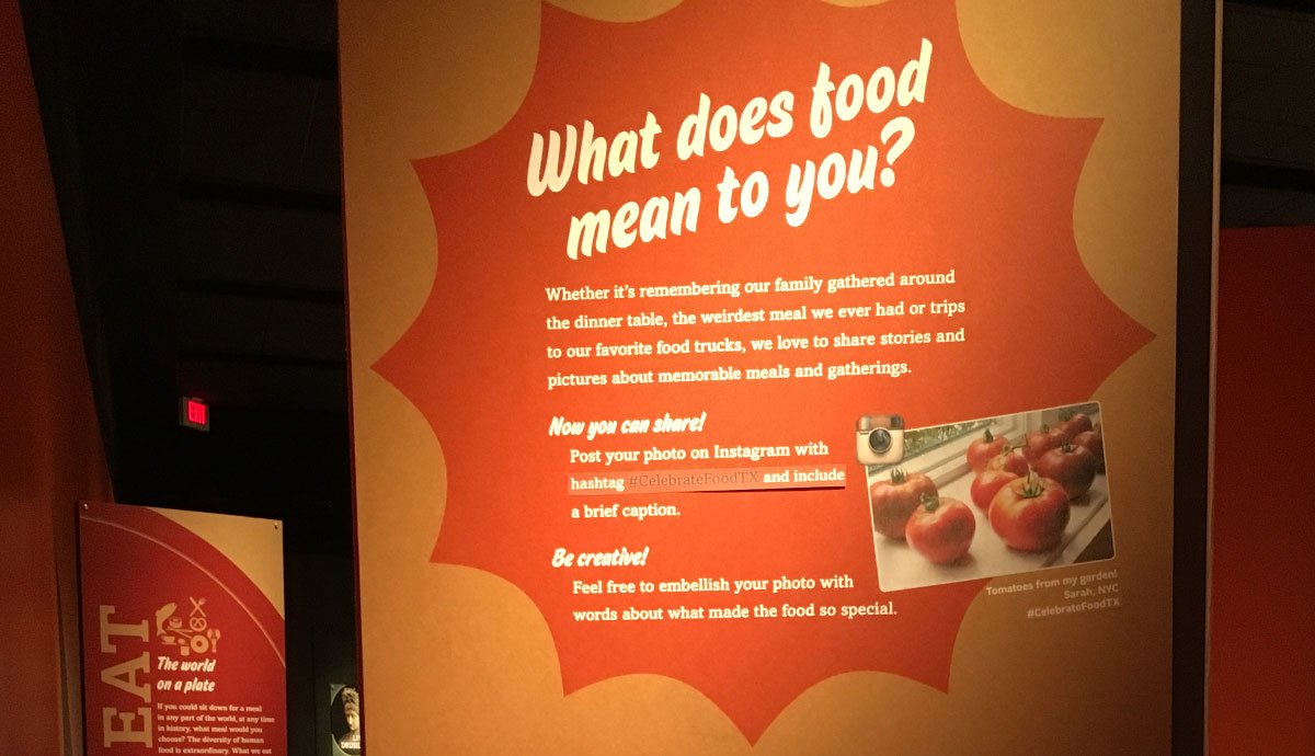 Our Global Kitchen | Bullock Texas State History Museum