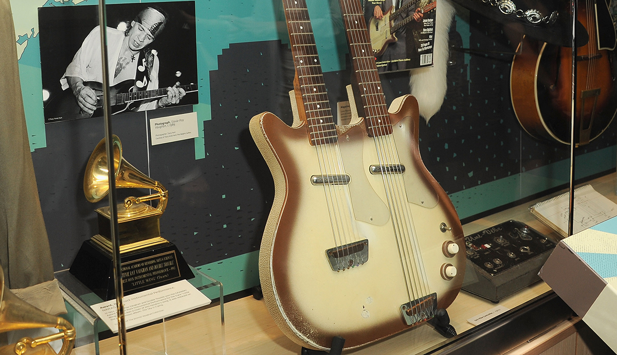 Stevie Ray Vaughan Guitar Collection