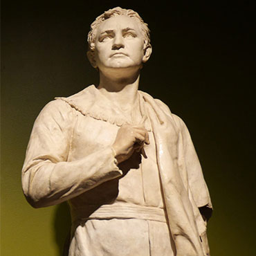 Sam Houston, sculpted by Elisabet Ney in 1892.