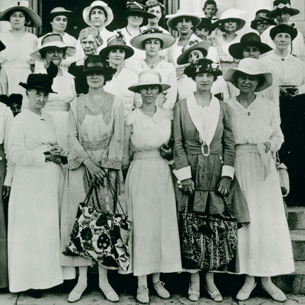 Travis County women register to vote, June 26, 1918. Courtesy PICA 11669, Austin History Center, Austin Public Library