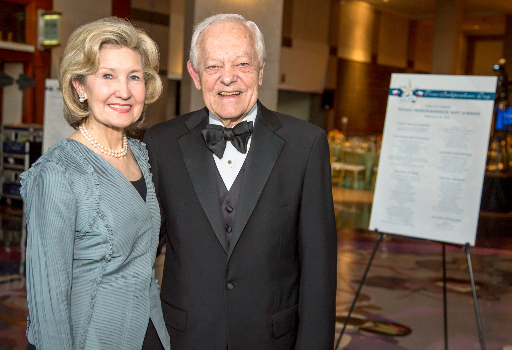 The annual History-Making Texans Awards Dinner was held last month in Austin and honored Senator Kay Bailey Hutchison and Bob Schieffer. Photo Courtesy Chris Caselli.