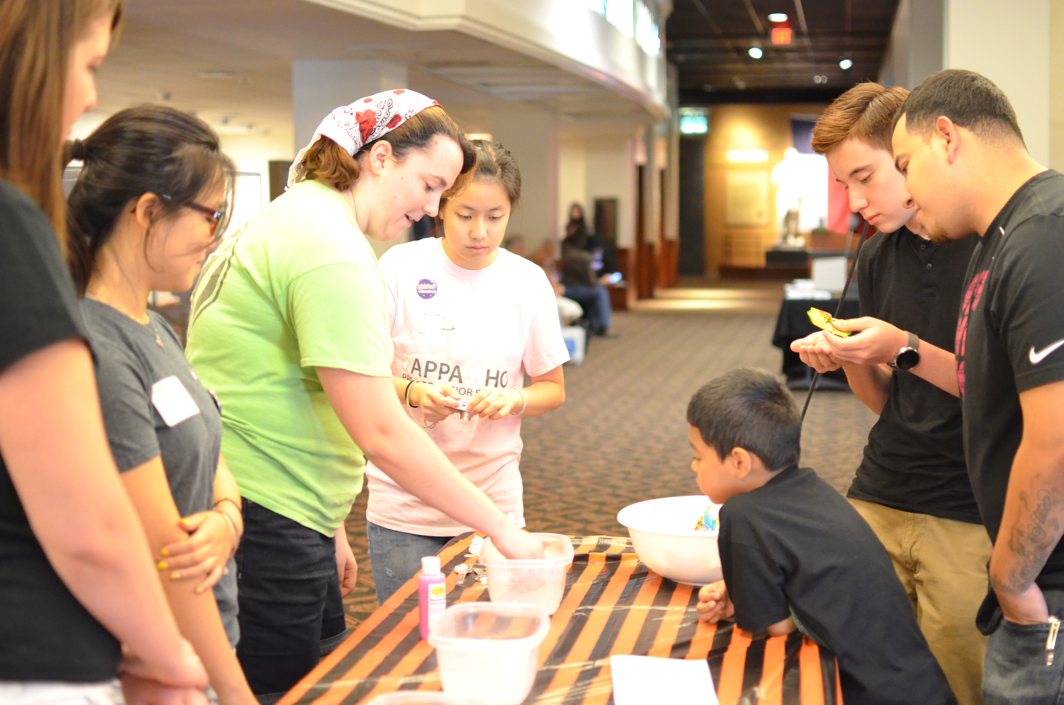 Treats, art and science activities are offered for children and families every year as part of the Bullock Museum's Spooktacular event held in conjunction with Girlstart.